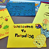 Sample of just some of the Letters of comfort for the students of Paradise Ca., SUN/David H. Brow