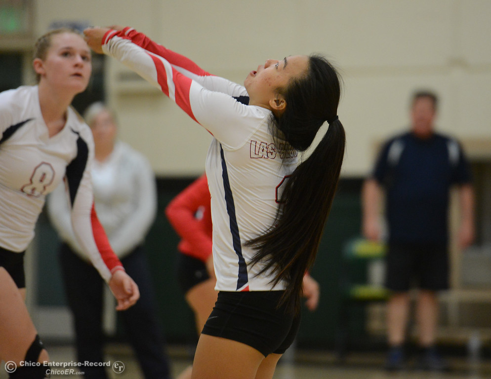 . Paradise High hosts Las Plumas in the Northern Section Division III first-round playoff match Wednesday November 1, 2017 in Paradise, California. (Emily Bertolino -- Enterprise-Record)