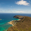 Paragliders  and Hang Gliders over Makapuu-7