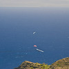 Paragliders  and Hang Gliders over Makapuu-22