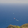 Paragliders  and Hang Gliders over Makapuu-20