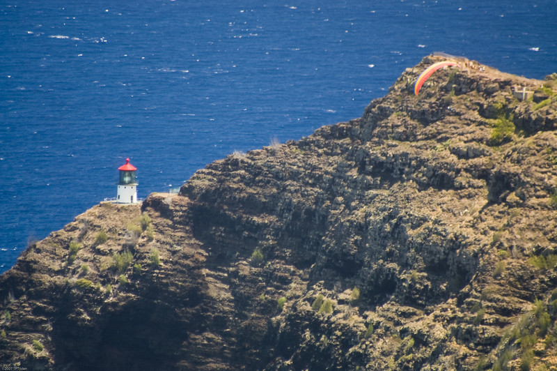 Paragliders  and Hang Gliders over Makapuu-56