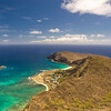 Paragliders  and Hang Gliders over Makapuu-12