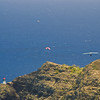 Paragliders  and Hang Gliders over Makapuu-27