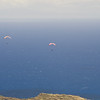 Paragliders  and Hang Gliders over Makapuu-63
