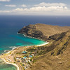 Paragliders  and Hang Gliders over Makapuu-11