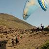 Paragliders at play-143