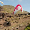 Paragliders at play-198