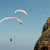 Paragliders at play-207