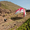 Paragliders at play-194