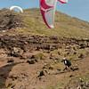 Paragliders at play-199