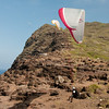 Paragliders at play-201
