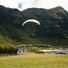 Paraglider landings at Kaupo Beach Park-13