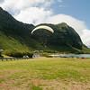 Paraglider landings at Kaupo Beach Park-15