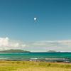 Paraglider landings at Kaupo Beach Park-4