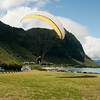 Paraglider landings at Kaupo Beach Park-17