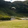 Paraglider landings at Kaupo Beach Park-10