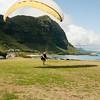 Paraglider landings at Kaupo Beach Park-20