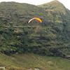 Paraglider landings at Kaupo Beach-18