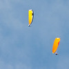 Paraglider landings at Kaupo Beach-1