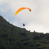 Paraglider landings at Kaupo Beach-17