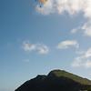 Paraglider landings at Kaupo Beach-11