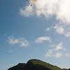 Paraglider landings at Kaupo Beach-12