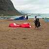 Paraglider Party at Makapuu LZ-12