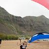 Paraglider Party at Makapuu LZ-19