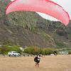 Paraglider Party at Makapuu LZ-13