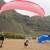 Paraglider Party at Makapuu LZ-17