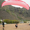 Paraglider Party at Makapuu LZ-16