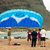 Paraglider Party at Makapuu LZ-1