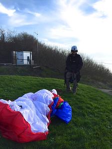 Jim after landing