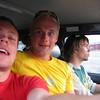 I hentebilen tilbake fra Tynset