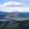 Utsikt mot Voss fra midt i Bordalen