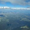 Utsikt mot Rondane fra 3800 moh