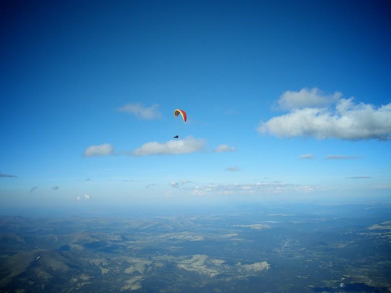 Dagens høyeste ytterst i Grimsdalen. Maks høyde 3700 moh.