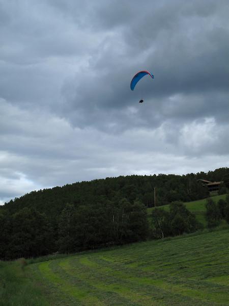 Vågå PG Open Dag 6: Frode på vei mot landing i Bøverdalen