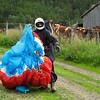 Vågå PG Open Dag 6: Frode poserer foran kuene