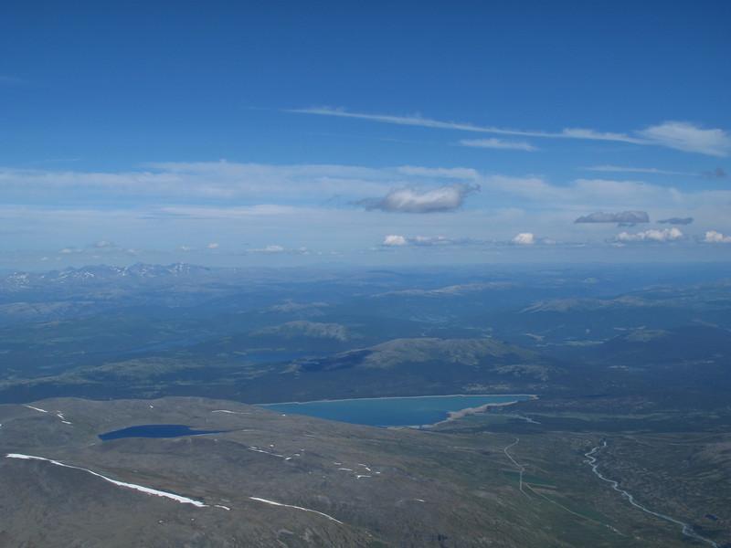 Juvass-Tessevann: Lite skyer