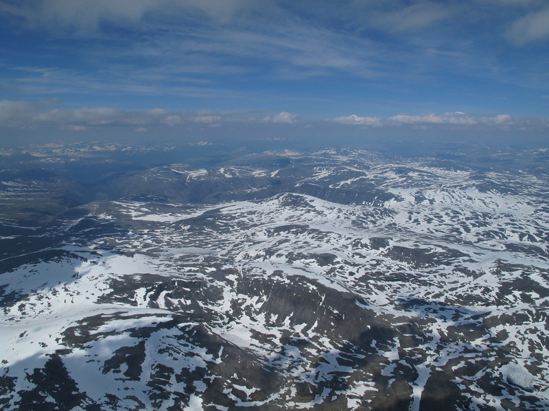 Vole-Litldalen: Utsikt nord-østover