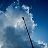 Stor sky på vei hjem fra Høsbjør