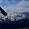 Utsikt fra Heidal mot Jotunheimen