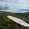 Landing ved Slådalsveien etter en tur fra Vole via Lora.