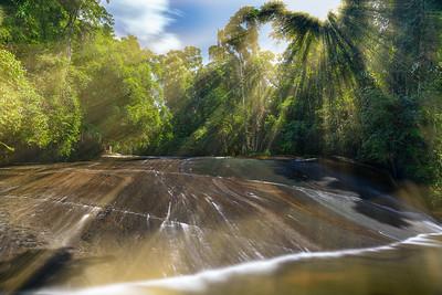 Cachoeira do Tobogã e Poço do Tarzan
