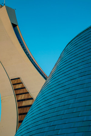 Parc Olympique - Lines and Curves