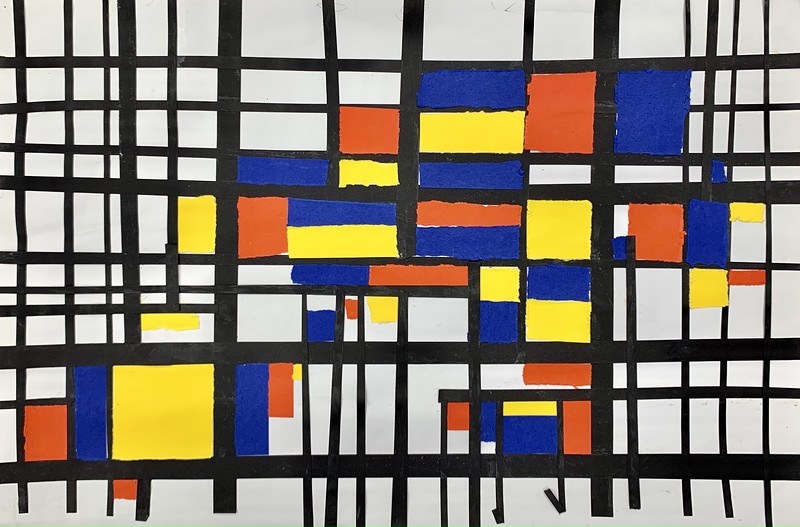 Mondrian Study