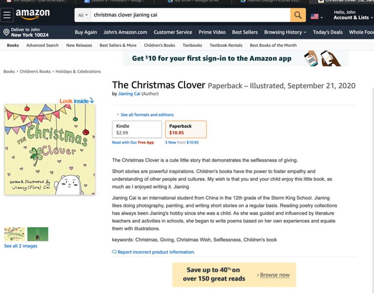 Christmas Clover
