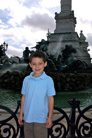 Parents visit France 2011
